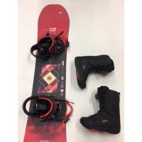 SNOWBOARD & BOOTS für Kinder bis 15 Jahre oder Schuhgröße bis max. 40
