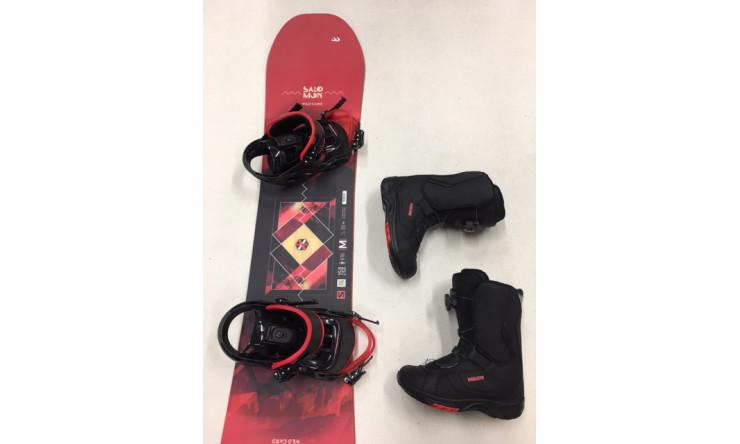 SNOWBOARD & BOOTS  für Erwachsene oder Kinder ab Schuhgröße 40,5